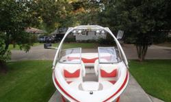 2006 Tahoe Q6 Sport (but initially purchased in May 2007) 21ft length, 96in beam, 190hp, 4.3L V6 Mercruiser alpha I, sterndrive Swim platform w/ retractable ladder 46gal fuel tank Matching boat cover Collapsible Monster wakeboard tower Tandem axle,