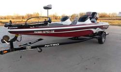 2008 Nitro Z-7 DUAL CONSOLE BASS BOAT For Sale by Midway Power Sports - Spokane, Missouri Exterior Color