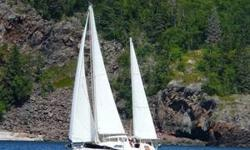 Elysian is a very comfortable cruiser, great for Lake Superior and beyond. Her aft cabin with a real double berth and dresser, her easy and stable motion, and her many upgrades (electrical, sails, anchor roller, mast wiring... see full list) all make her