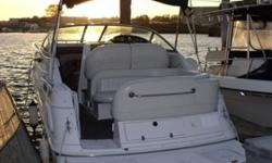 2003 Four Winns 248 Vista with new 5.0 mercruser engine with 2 year warranty.Full galley with aft berth.Perfect for overnighting and weekend getaways.New risers,manifolds and starter.No trailer.Price well below nada value.