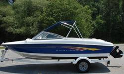 I have a very clean 2007 Bayliner 175 ski boat/bowrider for sale (17.5').135 hp Mercrusier engine. Runs great and lake ready. Never put in salt water. Call or text at (4one5) 935-48two3Has been kept in great shape with under 80 hours of use in the past 4