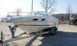 1998 Sea Ray 230 OVERNIGHTER This Sea Ray 230 OV Select is a very well maintained boat. It is turn key ready for it's new owners with all services up to date. Call us today to set up your private showing! For more information please call
