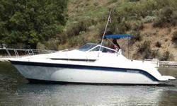 1990 Carver Montego 2557 1990 Carver Montego 2557 with 2001 Sea King Triple Axel Trailer. 454 Mercruiser motor. Spacious mid-cabin cruiser, galley, bath with shower, two beds and lots of room. Extended swim platform with transom shower. Great Boat!!!