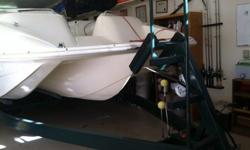 1997 Rinker Floatilla 24ft Deckboat. 1 owner, always garaged, everything is very well maintained. Only 10 hours on the engine. 350 vortec.