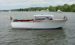 1963 Chris Craft 22? commuter, complete restoration with pictures, original engines, the mahogany finish is superb. This boat is a 10! A true classic. $18,750.00. Please call 706-232-2642 or 706-252-0675. Located at Goosepond Marina near Scottsboro,