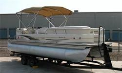 Super Nice Condition! 135 HP 3.0L Mercruiser, Alpha One Drive, Bimini Top w/ Struts, Easy Access Rear Swim Step w/ Gate & Swim Ladder, Sun Deck, Pop-Up Changing Room, New Upholstery, Table w/ Cup Holders, Swiveling Captain?s Chair w/ Bolster, Tilt
