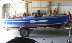 This is a documented original 1947 Chris Craft 16? Rocket with the original Hercules 95hp Chris Craft K Engine, original glass, hardware and six volt system. The original glass has some imperfections and one small crack. Restoration in 2004 included a new