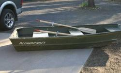 Alumacraft 10 feet. john boat with oars. attractive condition!195.00 cash. or trade?541-536-2721503-407-7157Listing originally posted at http