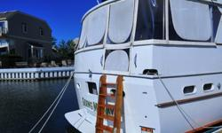 Year:1965Make:HatterasUse:Salt WaterType:Motor YachtEngine Make:GM DieselLength (feet):50Hull Material:FiberglassHull ID Number: 14This 1965 50 Hatteras's hull has been completely recored and glassed in she has a soild fiberglass the only one in existence