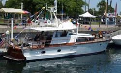 Beautiful 1966 Classic Baglietto 16 meter Motoryacht for sale or trade.A midcentury marvel of Italian Craftsmanship.They don't build them like this anymore.Only two owners since new.Owned since 1998Twin 8v71 diesels$50,000 OBO or Trade (For Anything