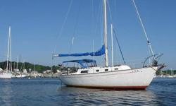 1972 IRWIN 32 CRUISER. FEATURES:TWO MAINSAILS, ONE OF WHICH IS A RENAISSANCE. BOTH ARE CLEAN AND SERVICABLE WITH PLENTY OFF LIFE LEFT IN THEM. THE RENAISSANCE IS MISSING ONE MAST GUIDE CLIP, BUT I HAVE SAILED WITHOUT IT WITH NO ISSUES. IT IS NOT NOTICABLE