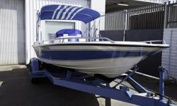 There is only 49 Hours on Kenne Bell 502. The Tandem Trailer is in great shape, The Bimini Top and interior looks brand new. Original gelcoat is in great shape. It has a Berkeley Jet. You must see to appreciate how nice this boat is. It turns heads at the