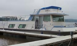 1978 Nauta Line Houseboat This Nauta-Line houseboat is powered by twin 350's with a 255 HP. The boat has been owned for 25 years. The interior completely redone about 10 years ago. It contains 7.5 gas Kohler generator, 2-12,000 BTU air conditioner. These