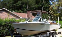 Type of Boat: Power BoatYear: 1980Make: Chris CraftModel: Scorpion 211Length: 21Hours: LowFuel Capacity: 79Fuel Type: GasEngine Model: 1998 V225 Yamaha Saltwater Series Max Speed (Boat): 48Cruising Speed (Boat): 33Inboard / Outboard (Boat): Single