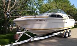 Stock Number: 720994. For sale is a Sea Ray boat that I have been using on lake Michigan trolling for Salmon & trout. It is in very good shape and well taken care of and always stored inside. It has a 350 motor that runs excellent with no problems. The