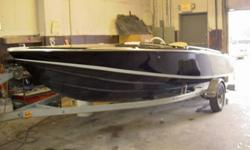 YOU ARE LOOKING AT A BEAUTIFUL 1981 18 FT INBOARD/OUT BOARD DONZI. THE MOTOR AND OUT DRIVE WERE NEVER USED SINCE REDONE IN 1993. ALL GAUGES ARE NEW. THE BOAT HAS BEEN STORED AWAY SINCE 1993. THE HULL IS IN EXCELLENT CONDITION. BLACK WITH A WHITE STRIPE.