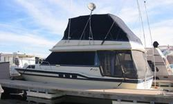 I bought this boat, Mr. Ed, in the summer of 2007. During that summer my wife and I used it several times on 1 or 2 night trips, but stayed in the marina on our slip most of those times. We took it out of the slip 2 or 3 times for day trips and one time