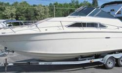 1982 Sea Ray 260 Sundancer 1982 Sea Ray 260 Sundancer. The interior has been updated and a complete canvas package added. A new cockpit cover is also included. NO motor or trailer included. We do have have them available for purchase at an additional