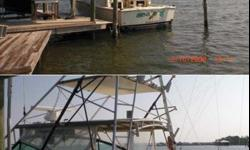 Stock Number: 712836. A high quality Hatteras Express with Full Tower powered by 671 Detroits with less than 500 hours on rebuilts. 8.0 kW Kohler generator. Loaded with electronics including Northstar GPS Radar, Garmin and Sitex color fish finder and GPS