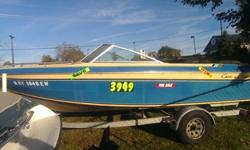 We have for sale a 1984 Chris Craft Scorpion 186. This boat is in excellent condition for a 30 year old boat. This boat just received a fresh tune up and prop repair as well. The trailer is in great shape as well.This boat features:Specs:Length ? 18?Beam