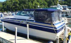 Twin 454's 330HP, Onan generator, new hot water heater, new water pump, new flat screen tv, new complete enclosures custom made in 2014, refrigerator, wine cooler, electric head, shower, microwave, blue LED lights run throughout, stereo with Bluetooth,