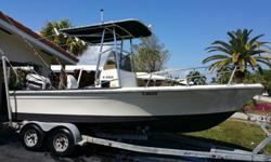 This is a Fine Boat. we just did a complete Tune up, plugs, wires, carb service, fuel filters, 2 thermostats and a water pump. Installed, 2 New batteries as well. The hull was just freshly painted. The tee top is in decent shape. The boat includes a