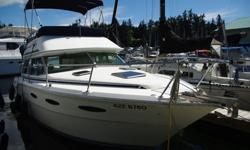 1986 Sea Ray sedan - $17,250 (approx U.S.) (West Vancouver)Reduced! Well kept and professionally maintained mechanically w/2235 hrs. Good equipment including a hard bottom RIB w/9.9 Yamaha o/b. Priced to sell so offers to 22.5K Canadain and please contact