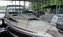'86 Sea Ray Sundancer 270 with twin 170 Mercruiser engines. Enclosed coolant system for fresh to salt water use. 320hr.on her. With AC/DC fridge, alcohol stove, Marine Air Conditioning. No on board generator. CD player , new batteries, anchor, life