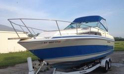 Beautiful Gently used Craft- only item that dosent work is the horn- minor cosmetic issues that are evident in photosI am 1 owner,used boat to fish and give his grandkids rides on sodus bay- I have only launched and used boat twice- never seem to have the