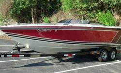 The boat is a 1987 Baja 240 Sport - in excellent condition inside and out. It has a fresh factory mercruiser 454 with less than 75 hours on the engine and Alpha I outdrive. The boat starts/runs excellent every time. Sounds great with the aftermarket