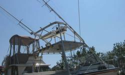 DESCRIPTION:Hello folks. Up for Auction is my 1987 Boston Whaler 27 Offshore. Anyone who knows Boston Whalers will tell you that 1987 was one of their best hulls ever built. She can handle seas like a 35 footer! The engines are older 1998s but are fully