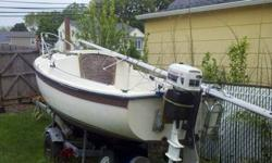 Buy now Sail Tomarrow - Price Reduced! 1987 Compact Yacht, with Trailer, 4 hp Sailmaster outboard engine - runs good. Sails very good condition, comes with many extras including anchor, rope and porta- potty, flare gun and more! This is perfect boat for