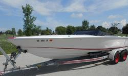 ,,,,,1987 DONZI 22 CLASSIC POWERBOAT COMPLETE WITH TRAILER THAT NEEDS ENGINE WORK (CRACKED BLOCK / IMPROPER WINTERIZATION).THE DONZI HAS BEEN IN STORAGE NUMEROUS YEARS (INDOORS) AND WAS JUST PULLED OUT LAST WEEK FOR THE 1ST TIME. AFTER FIRING THE BOAT UP