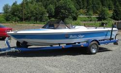"""This is a 1987 Malibu Skier, In excellent condition ! Only 487 Hours on the meter. 19' 6"""" In Length , Beam is 86"""" , 2300 LBS, 25 Gallon Tank Capacity, 6 Person boat. This boat is in Great shape, Nearly Flawless. Blue and white Fiberglass Exterior Hull ,"""