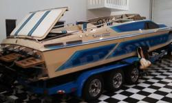 1987 Sleek Craft Boat, 28?. Excellent condition. Ran 260 hours. Twin Mercury 400?s inboard engines. Extra gas tank's for 100 gallons of extra fuel. Perfect shape. Asking for $28,000. Call 850-830-1384 or 662-213-3430. If no one answers please text your