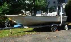 You are looking at a mint 1988 Boston Whaler sport, center console. It is power by a 1988 Yamaha 40 hp, oil injected motor. The comes with a 1988 trailer, which is also in excellent condition. The boat has never been bottom painted, and has never