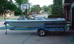 1988 Malibu Skier, excellent condition inside and out. Just over 1000 hours on the hull and transmission, just over 300 hours on a long block rebuild of the Mercruiser 5.7L Competition Ski engine. rebuild performed by Wakeens in about 2007. I've owned the