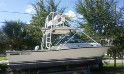 1988 24ft Rampage center 1998 inboard 350 LS1. Engine completely gone through in July of this year injectors replace, , cleaned pressure gauge, replaced manifold gaskets, replaced water pump, and rebuilt transmission. Over 4 thousand invested into getting