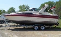 DECK ANCHOR W/LINES BACK ARCH BOW PULPIT W/RAIL DECK WASHDOWN SYSTEM FENDERS & LINES SPOTLIGHT WINDSHIELD WIPERS ELECTRIC 12 VOLT SYSTEM 30 AMP DOCKSIDE POWER BATTERY (2) BATTERY CHARGER BATTERY SWITCH CONVERTER DOCKSIDE CORD ENGINE ALUMINUM PROPS BILGE