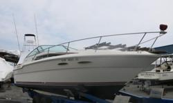 ,,,,1988 Sea Ray 300 Weekender. This Sea Ray is in good condition but needs work . This Vessel floated off its stand during Hurricane Sandy. There was NO water reported in cabin and the engines, the port engine is reported to run and the starboard engine