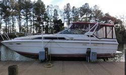 Features Include ~ HUGE Dry Odor Free Cabin w/Lots of Headroom + Aft Cabin, V Berth, Enclosed Head/Sink/Stand Up Shower, Air Conditioning/Reverse Cycle Heat, Owners Manuals, Galley with Newer Stainless Steel Fridge, Sink, 3 Burner Stove, Microwave, Lots