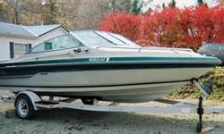 """1988 Sea Ray Seville 200CC 20' Cuddy Cabin Boat& TrailerFree vacation with purchase~~~~~~~~~~~~~~~~~~~~~~~~~~~~~~~~~~~~~~~~~~~~Year: 1988Make: Sea RayModel: Seville 200CCLength: 20'ENGINE: I/O Mercruiser 205hpTrailer: includedDonor states*, trailer has 2"""""""