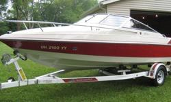 ....Wellcraft 192 Classis that I purchased new back in 1988. The boat was purchased locally and used on the local freshwater lakes. When not being used, the boat was stored at my house in a garage. Boat was never left out or docked at a lake. Always