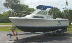 Mechanical:Let's just get started with the best thing about this boat ... take a look at that much needed upgrade of a motor mounted on the transom of this baby. Updated in 2004 a Brand New Yamaha 200HP outboard that is in perfect running condition and