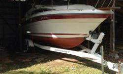 Beautiful boat priced below book value. Includes 1997 Shorlandr roller bumper trailer with new tires. BEST OFFER takes this great boat that is water ready. Contact Kyle 479-692-3789 or XXX@XXXXListing originally posted at http