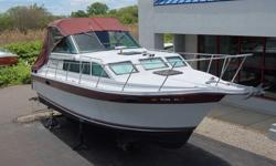 ONE OWNER 1989 BAHA 310 EXPRESS CRUISER BOAT. THIS IS NOT A BROKERED BOAT, DIAMOND MARINE OWNS THE BOAT AND WILL READY THE BOAT IN THE WATER FOR THE NEXT OWNER.THE BOAT IS IN VERY NICE CONDITION AND SHOWS BEAUTIFULLY WITH THE CABIN, HELM AND COCKPIT
