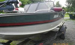 SUMMERS TOO SHORT HERE RAINS TOO MUCH DON'T HAVE THE TIME TO ENJOY IT.1989 BASS TRACKER GREAT CONDITION.PRO SERIES 90 HP EVINRUDE 4CYL 2 STROKE OIL INJECTED FOOT PEDAL.NEW WHEELS/TIRES 205-75-14.BATTERY TROLLING MOTOR.HUMMING BIRD FISH FINDER.RUNS GREAT