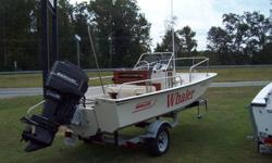 """""""BOSTON WHALERS ARE BUILT TO LAST"""" THIS CLASSIC 1989 BOSTON WHALER MONTAUK 17' IS IN EXCELLENT CONDITION!!!! ****************************$12,000.00************************************* POWERED BY 70HP MERCURY (JUST SERVICED), NEW TRIM ASSEMBLY 1988 LOAD"""