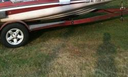 We have a 1989 Gambler bass boat for sale!! It's in good condition, runs well, has electronics on it, fairly new trolling motor on it. It's a little cold natured at first but other than that it runs well... We are asking 2000.00 but that is negotiable!!