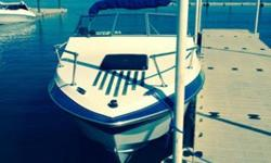 This is a beautiful boat , 21.5 ft Cuddy cabin with a lot of personality named Sea biscuit. She has a 5.7L/350 OMC motor with Cobra outdrive and she goes fast! It will with sorrow that I list her but we need to do home repairs so up she goes. We have the